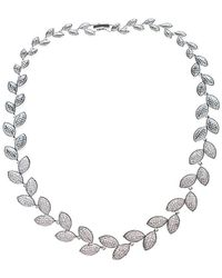 CZ by Kenneth Jay Lane - Plated Necklace - Lyst