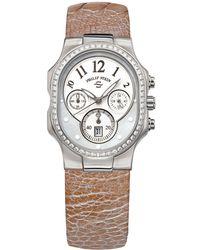 Philip Stein - Classic Diamond Watch - Lyst