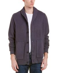 Velvet By Graham & Spencer - Jasper Sherpa Cardigan - Lyst