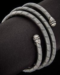 Scott Kay - Silver Coil Flexible Bracelet - Lyst