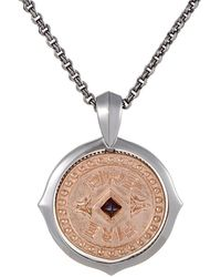 Stephen Webster - Silver Garnet Necklace - Lyst