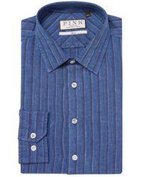 Thomas Pink - Erlan Stripe Dress Shirt - Lyst
