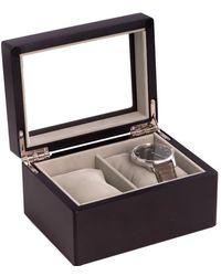 Bey-berk - Bey Berk Double Watch Box - Lyst