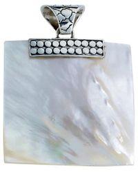 Samuel B. - Silver Mother-of-pearl Enhancer - Lyst
