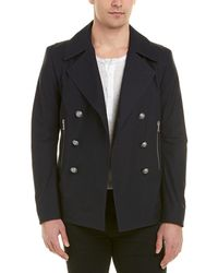 Balmain - Double-breasted Coat - Lyst