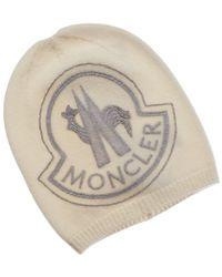 Moncler - Wool   Cashmere-blend Hat - Lyst d15ecf78d489