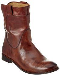 Frye - Women's Paige Short Leather Boot - Lyst