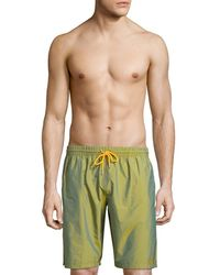 La Perla - Swimming Board Trunk - Lyst