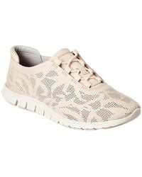 Cole Haan Zerogrand Leather Sneaker - Brown