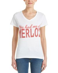 Hype - Hype You Had Me At Merlot T-shirt - Lyst
