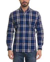 Robert Graham - Auden Tailored Fit Woven Shirt - Lyst