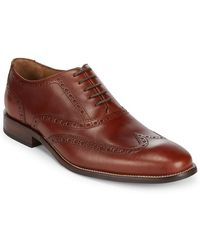 Cole Haan - Williams Oxford Leather Shoe - Lyst