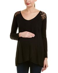 Everly Grey - Maternity Aaliyah Top - Lyst