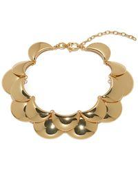 Lele Sadoughi - Golden Cove 14k Plated Necklace - Lyst