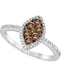 Le Vian - ® Chocolatier® 14k 0.57 Ct. Tw. Diamond Ring - Lyst