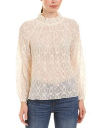 Rebecca Taylor - Lily Embroidered Silk Blouse - Lyst