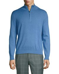 Brooks Brothers - Zip Ribbed Jumper - Lyst
