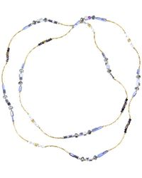 Saachi - Beaded Long 40in Necklace - Lyst