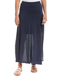 Three Dots - Midi Skirt - Lyst