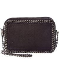 Lyst - Stella Mccartney Pre Owned Falabella Fold Over Bag Shaggy ... c0ddc50c848d8