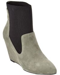 Charles David - Erie Leather Wedge Bootie - Lyst