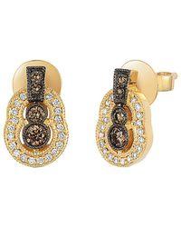 Le Vian - ® Chocolatier® 14k 0.44 Ct. Tw. Diamond Drop Earrings - Lyst