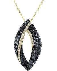 Effy - Fine Jewelry Caviar 14k Black Diamond Necklace - Lyst