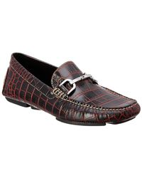 Donald J Pliner - Viro Leather Driving Loafer - Lyst