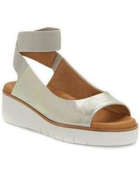 Corso Como - Beeata Leather Wedge Sandal - Lyst