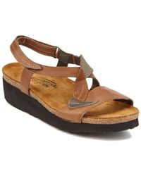 Naot - Caroline Leather Sandal - Lyst