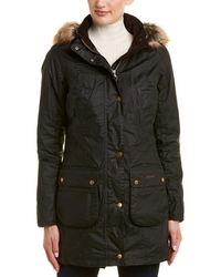 Barbour - Nevis Wax Coat - Lyst
