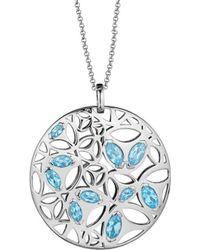 Di Modolo - Silver Quartz Necklace - Lyst