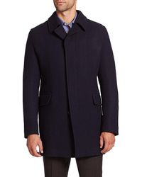 Saks Fifth Avenue - Collection Wool-blend Coat - Lyst