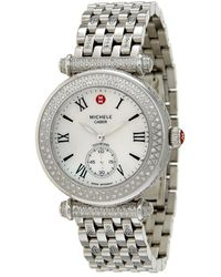 Michele - Women's Caber Diamond Watch - Lyst