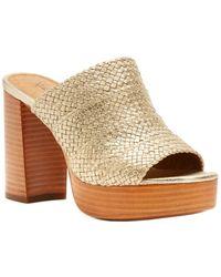 Frye - Katie Woven Slide Sandal - Lyst