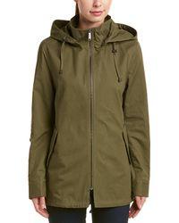 Sam Edelman - Sequin Elbow Hooded Jacket - Lyst