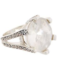 Stephen Dweck - Core Silver Gemstone & Pearl Ring - Lyst