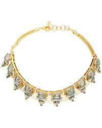 Elizabeth Cole - Sylvy Collar Necklace - Lyst