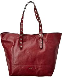 RED Valentino - Adjustable Oversized Leather Tote - Lyst