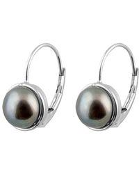 Splendid - 14k 7-7.5mm Freshwater Pearl Drop Earrings - Lyst