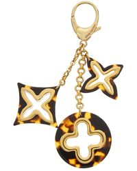 Louis Vuitton - Gold-tone Sac Insolence Bag Charm - Lyst