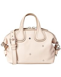 Givenchy | Small Metal Crosses Nightingale Leather Satchel | Lyst