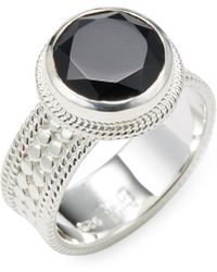 Anna Beck - Jewelry Silver Statement Ring - Lyst