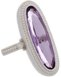 Judith Ripka - Rio Silver 6.03 Ct. Tw. Gemstone Ring - Lyst