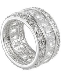CZ by Kenneth Jay Lane - Plated Ring - Lyst