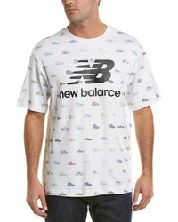 New Balance - Archive T-shirt - Lyst