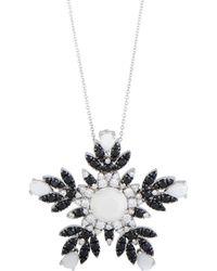Pasquale Bruni - 18k 1.01 Ct. Tw. Diamond Necklace - Lyst