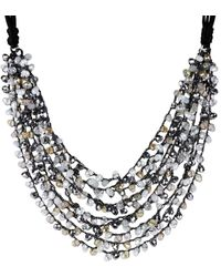 Saachi - Pastel Beaded Necklace - Lyst