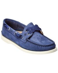 Sperry Top-Sider - A/o Suede Boat Shoe - Lyst