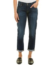 7 For All Mankind - 7 For All Mankind Josefina Rybt Skinny Boyfriend Cut - Lyst